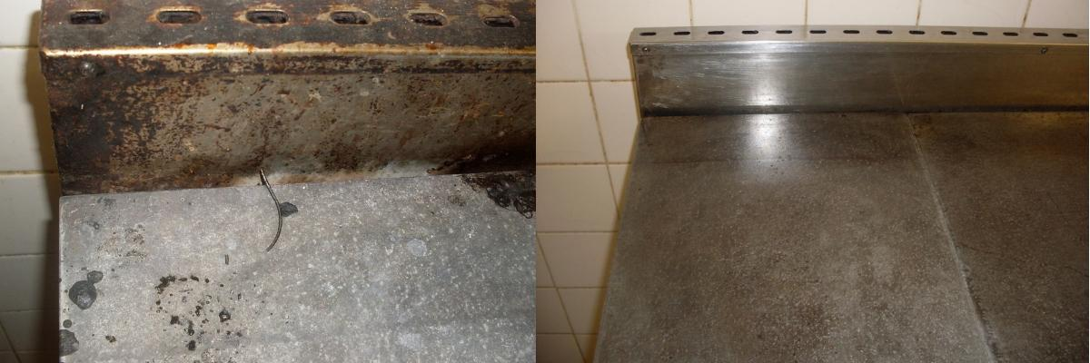 Before and after - kitchen hygiene
