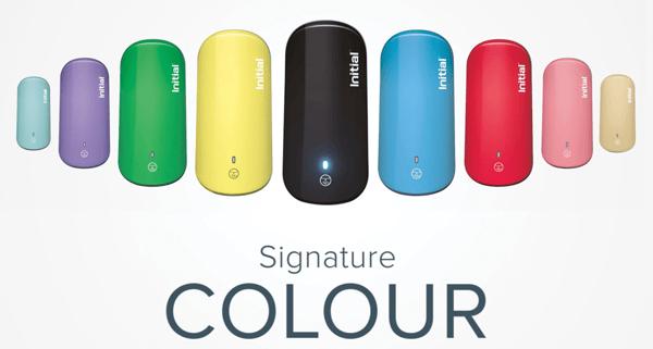 Initial's signature colour hygiene range