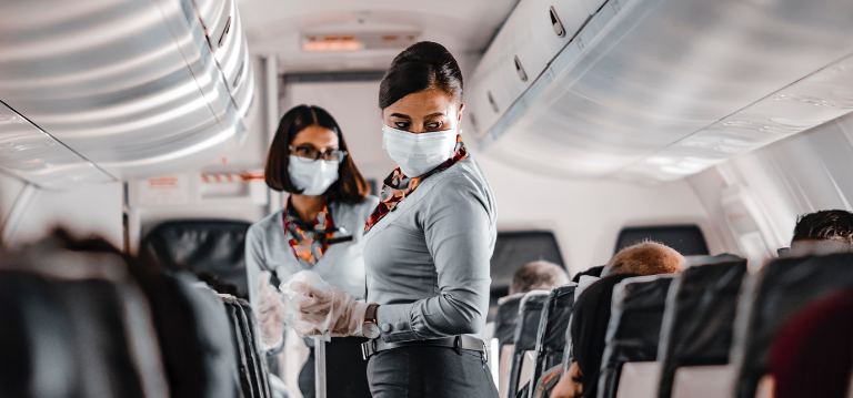 Airplane companies are applying self-disinfecting coatings to airplane cabins for hygiene and covid-19 protection. Find out more hygiene trends to watch for in 2021