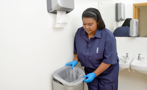 Initial hygiene waste disposal services