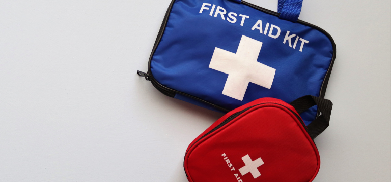 Initial Hygiene Blog: Insider tips for staying healthy while travelling - 4. Pack an emergency first aid and travel hygiene kit