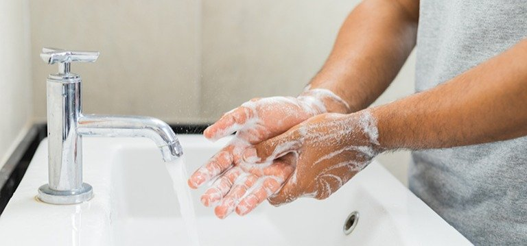 Prevention Tips for the Workplace: Wash your hands