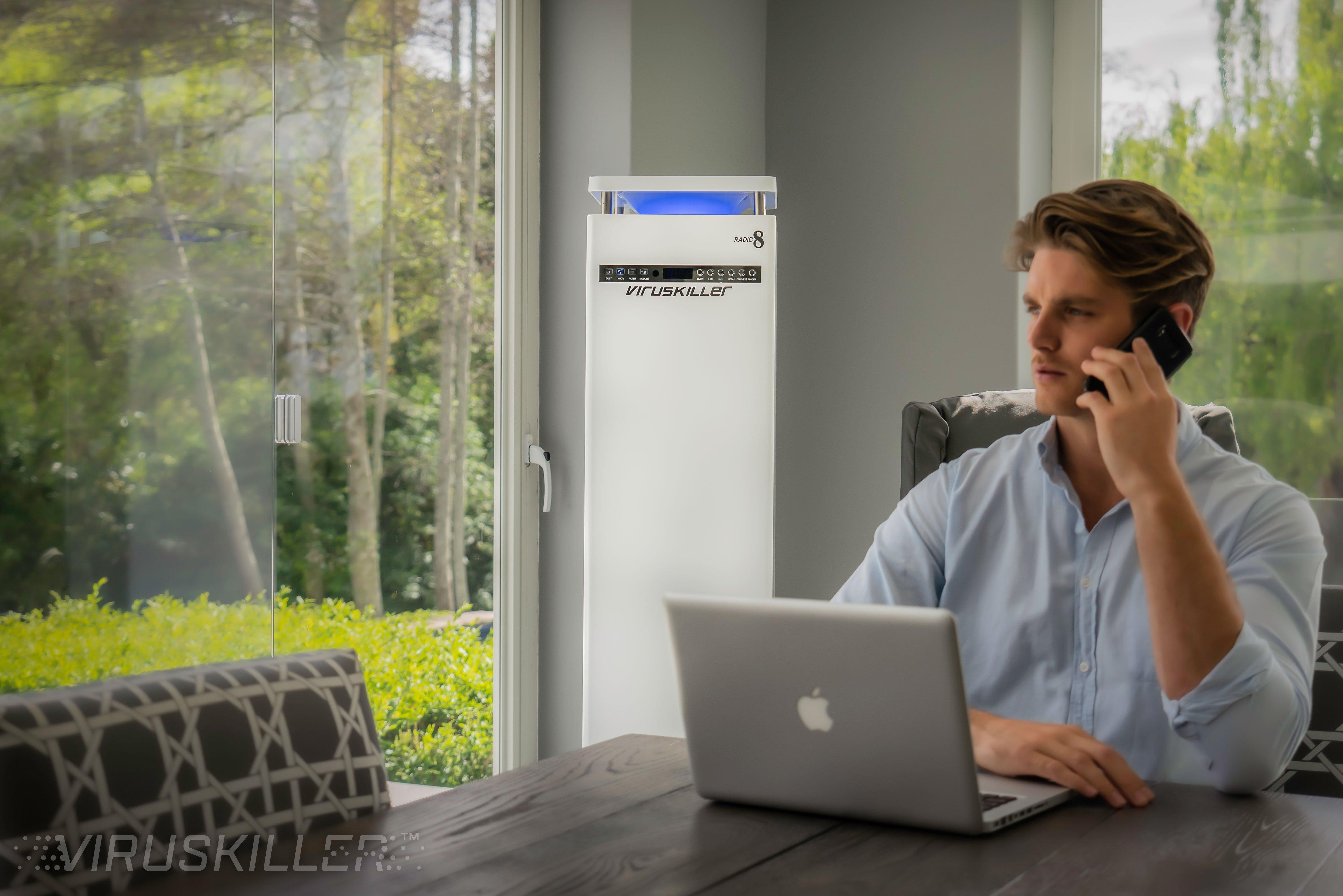 How the VIRUSKILLER decontaminates the air you breathe