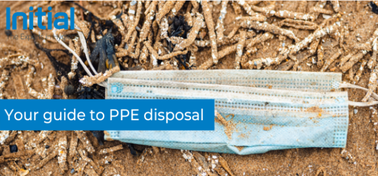 Guide to PPE disposal by Initial Hygiene